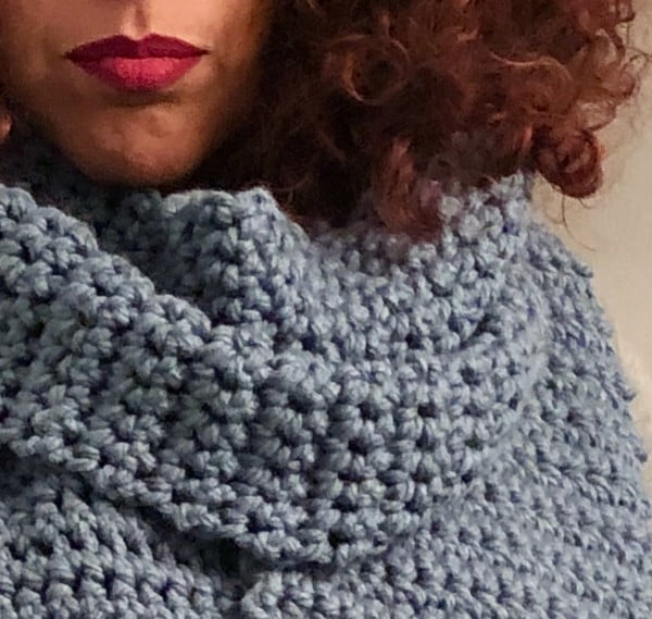 DIY Crochet Super Scarf w/ free pattern #crochet #crochetpattern #DIY #craft
