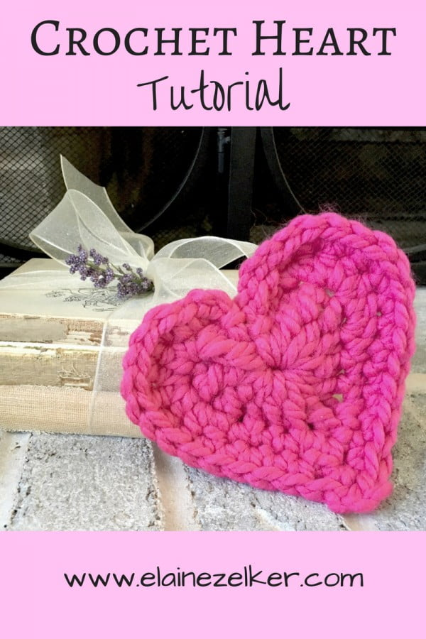 DIY How to Crochet a Heart #crochet #crochetpattern #DIY #craft