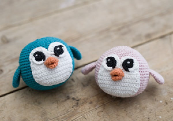 DIY – Crochet a penguin #crochet #crochetpattern #DIY #craft