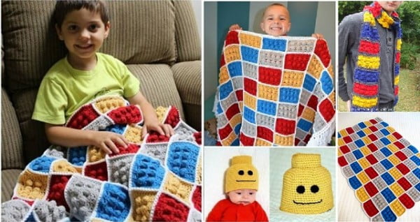 How To Crochet Lego Pattern #crochet #crochetpattern #DIY #craft