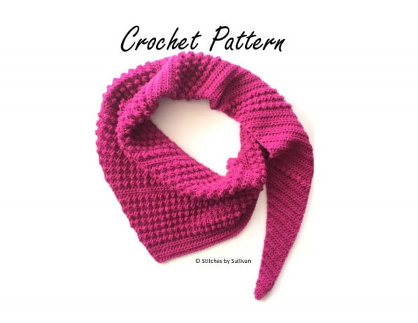 Antora Scarf Crochet Pattern//PDF Crochet Pattern//DIY Scarf Pattern #crochet #crochetpattern #DIY #craft