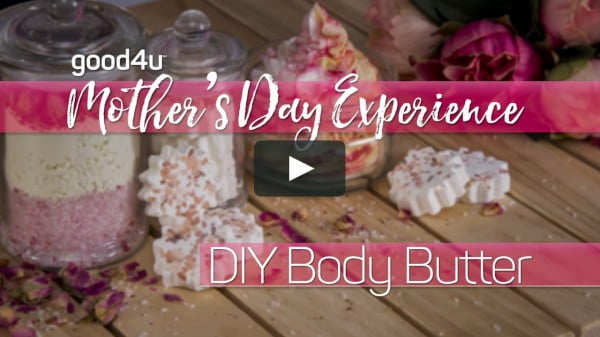 Mother's Day DIY Body Butter #DIY #beauty #craft #bodybutter