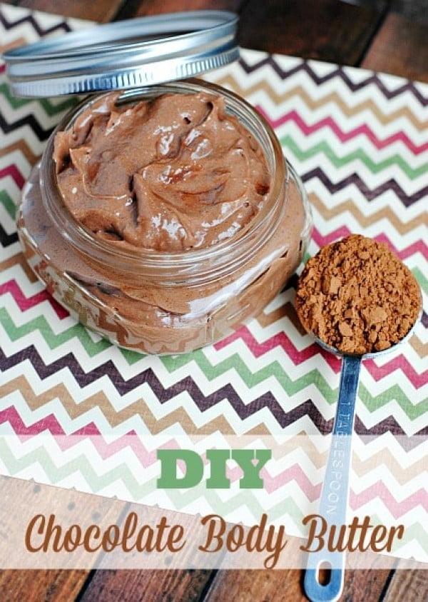 DIY Chocolate Body Butter #DIY #beauty #craft #bodybutter