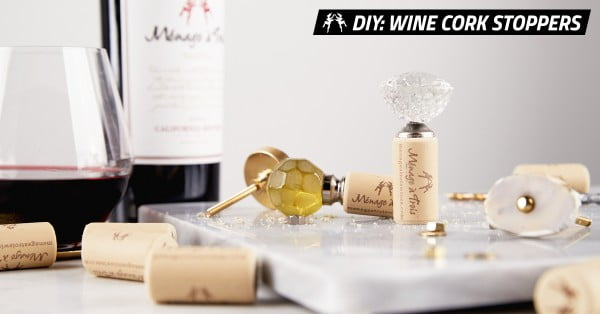 DIY Wine Cork Stoppers Stylishly Save Your Leftover Wine #DIY #craft #winecork