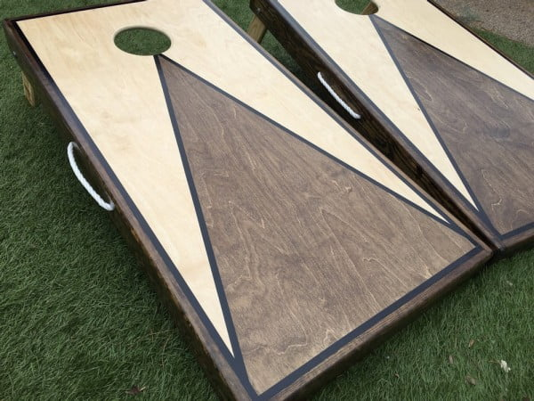 DIY Corn Hole!!