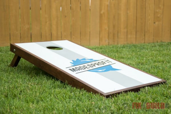 How to Make DIY Cornhole Boards FREE Plans