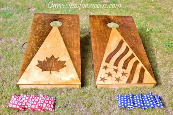 Free Cornhole Game Plans
