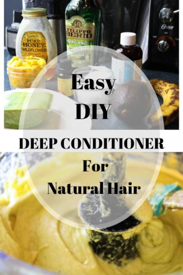 Easy DIY Natural Deep Conditioner