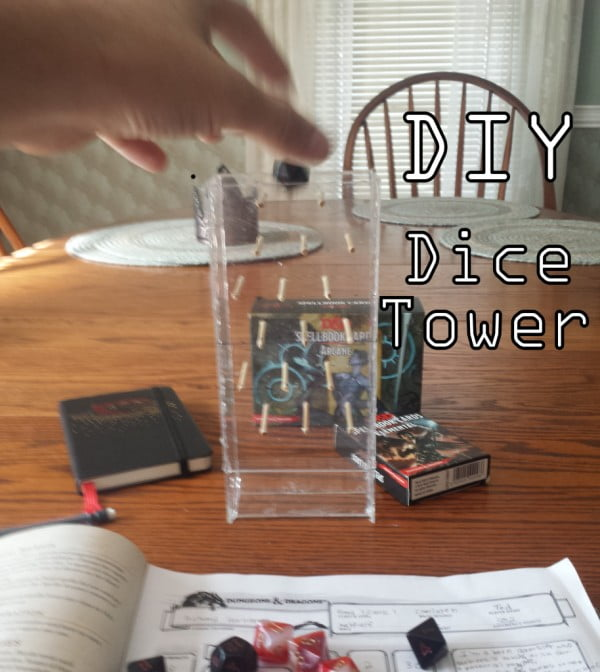 DIY: Budget Dice Tower Tutorial