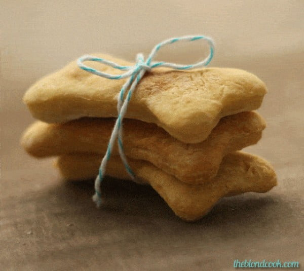 Simple Homemade Dog Biscuits