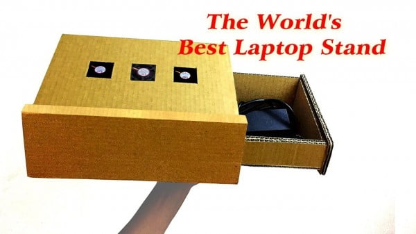 How to make LAPTOP STAND from Cardboard
