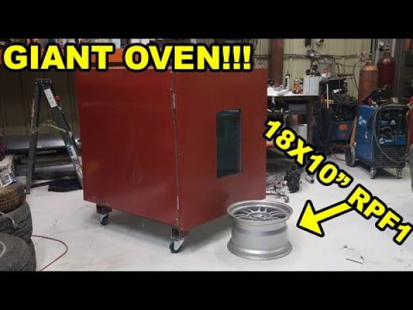 Building Powdercoating Oven