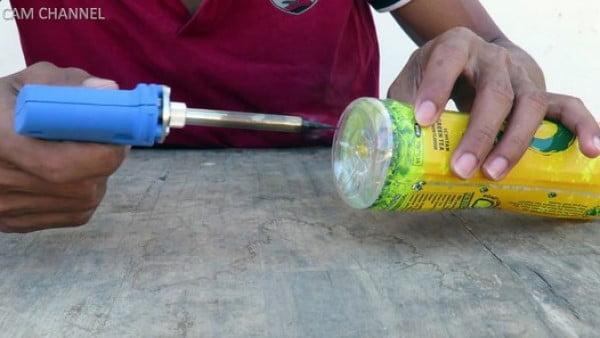DIY Water Bottle Mouse/Rat Trap