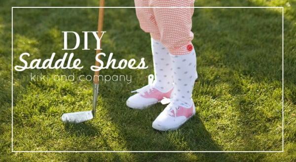 DIY Saddle Shoes {Tutorial}