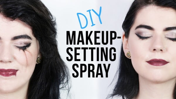 DIY Makeup-Setting Spray