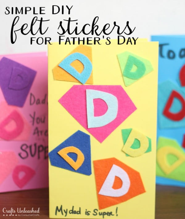DIY Stickers Tutorial: Easy Felt Stickers