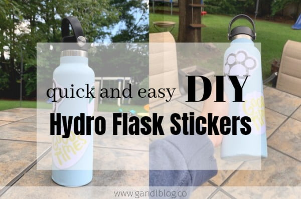 Quick and Easy DIY Hydro Flask Stickers