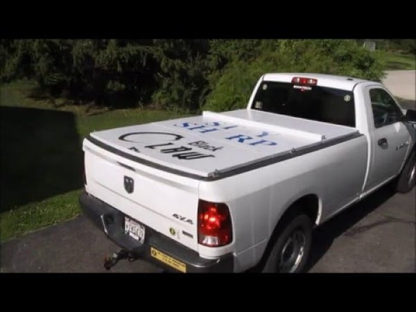 Homemade Tonneau cover
