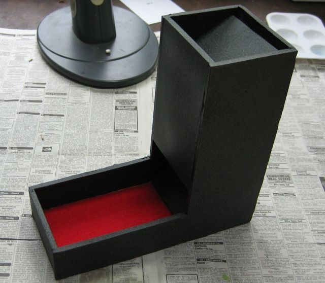 foamboard dice tower
