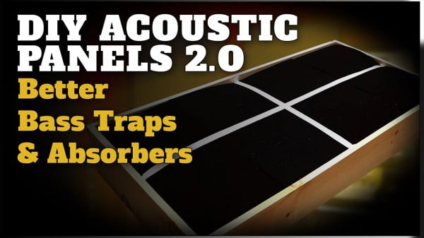 DIY Bass Traps and Acoustic Panels