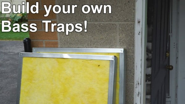 Build your own Bass Traps!