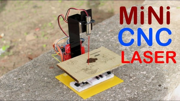 How to Make Mini CNC Laser Engraver at home