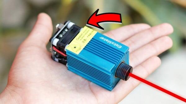 WOW! Amazing DIY Laser Engraving Machine Kit