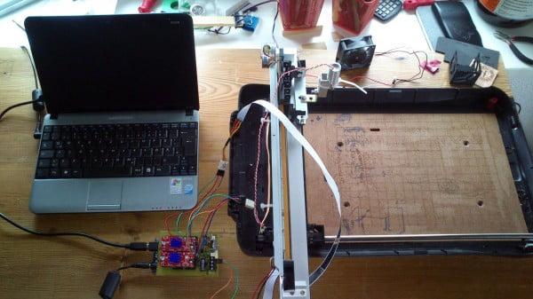 Frankenstein Laser Engraver