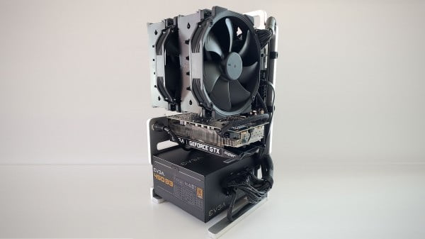 DIY Open Frame ITX Case Is Possibly The Best Way To Show You Are The Geek
