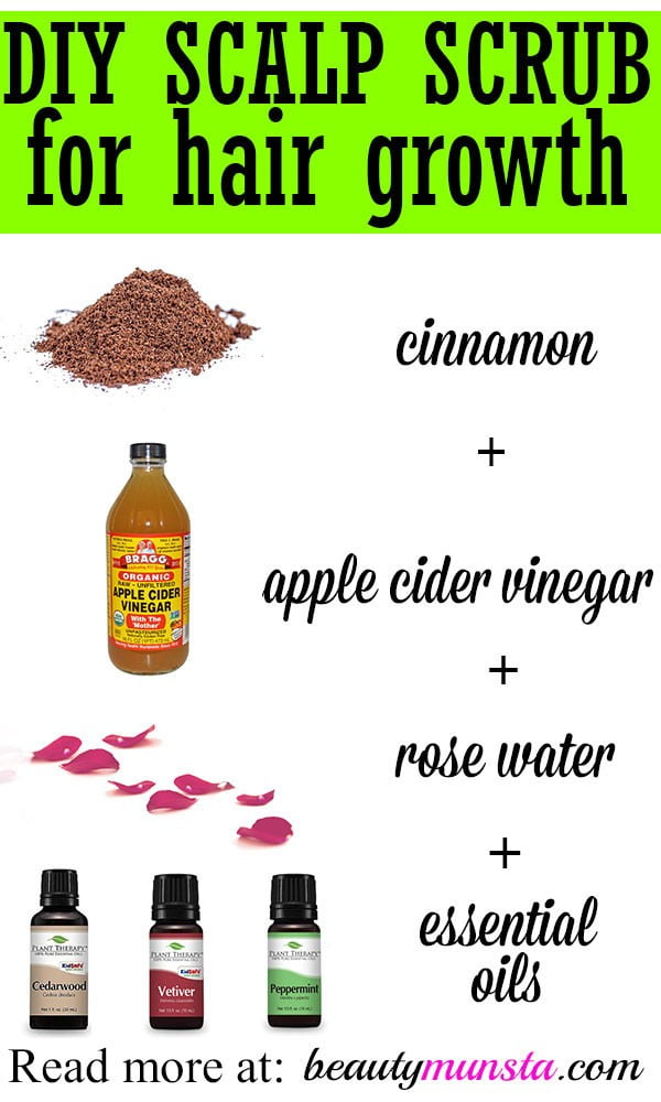 DIY Scalp Scrub for Hair Growth