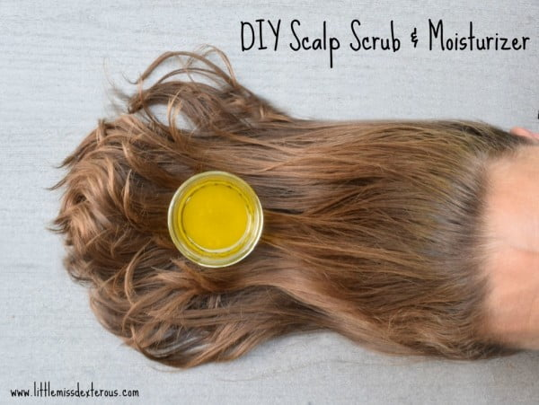 DIY Scalp Scrub and Moisturizer- All Natural
