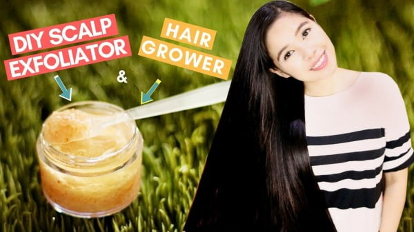 DIY Scalp Exfoliator & Hair Grower For Faster Hair Growth & Getting Rid of Dandruff-Beautyklove