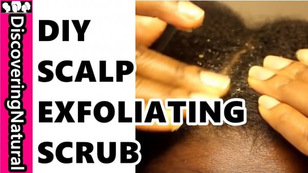 DIY Scalp Scrub for Exfoliating: Scalp Health