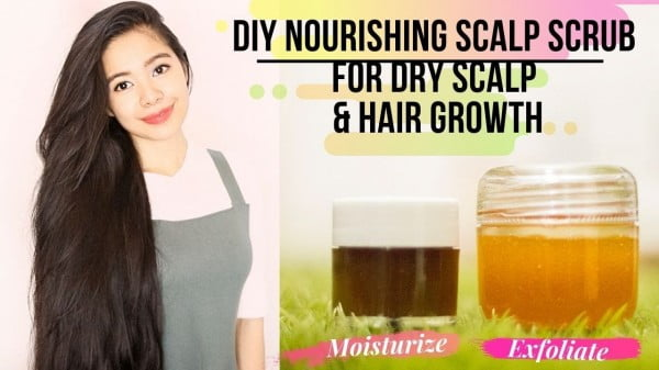 DIY Nourishing Scalp Scrub For Dry Scalp & Hair Growth- How To Have Healthy Scalp- Beautyklove